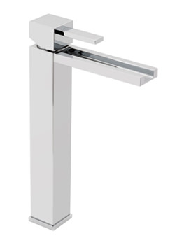 Te Falls Extended Mono Basin Mixer Tap With Waterfall Spout