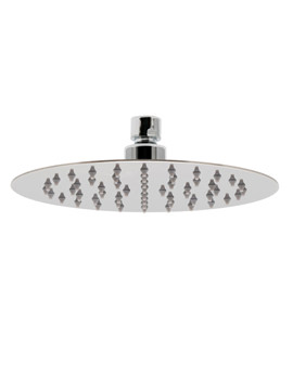 Aquablade Single Function Round Slimline Shower Head