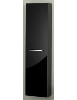RAK Slimline Tall Storage Unit 300mm Black - STDTBYBLK
