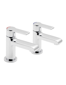 Vado Ion Deck Mounted Basin Pillar Taps - ION-106
