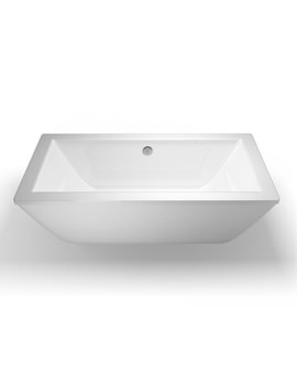 Freefortis Freestanding Bath With White Surround - R35