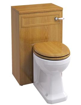 Related Burlington Oak WC Unit Including Concealed Cistern - F3O