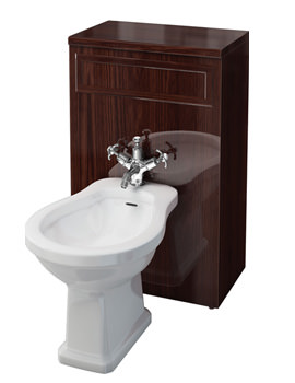 Related Burlington Mahogany Bidet Unit With Cistern Fittings - F4M