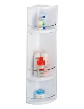Croydex Essentials Compact 3-Tier ABS Bathroom Storage Unit