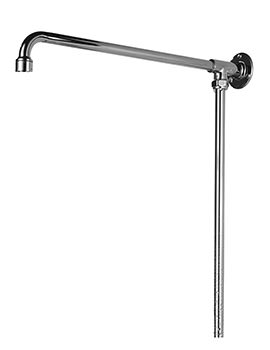 Bristan 1901 Fixed Shower Riser Rail Chrome - N RISE C