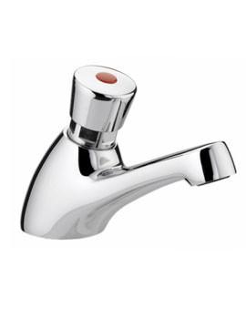 Self Closing Single Timed Flow Basin Tap Chrome - Z 1-2 C