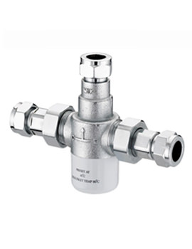Gummers 15mm Thermostatic Mixing Valve Chrome - MT503CP