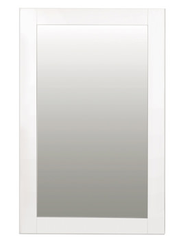 Balterley White Gloss Shaker Mirror 700 x 1088mm - BYFAWSFM2