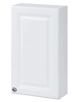 Balterley White Classic 400mm Wall Cabinet