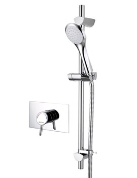 Acute Recessed Shower Valve With Riser Rail - AE SHCAR C