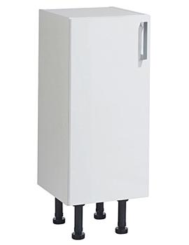 Balterley Euro White Gloss 300mm Base Cabinet With Legs - BYFWG3B