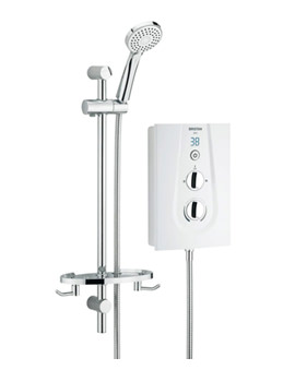Bristan Glee 8.5kW White Electric Shower - GLE85 W