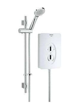 Bristan Smile 8.5kW White Electric Shower - SM285 W