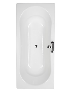 Related Balterley Double Ended 2 Tap Hole Steel Bath 1800 x 800mm