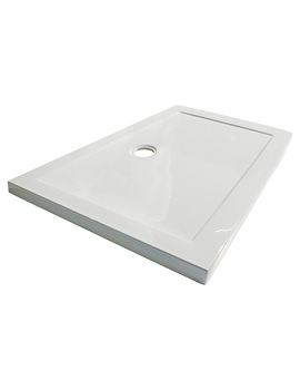 1500 x 900mm Hydrastone Low Profile Shower Tray - NTP044