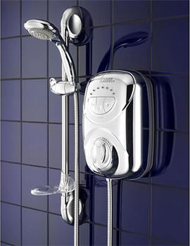 Galaxy G2000LX Thermostatic Power Shower Chrome Finish - 030313G