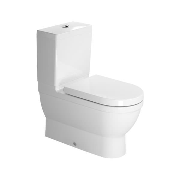 Starck 3 Close Coupled Toilet With Seat And Cover 214109