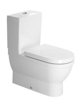 Starck 3 Close Coupled Toilet With Seat And Cover - 214109
