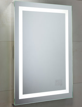 Encore Bluetooth Mirror 500 x 700mm Chrome - MLE430