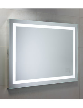 Beat Bluetooth Mirror 800 x 600mm Chrome - MLE420