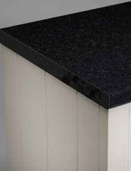 Roper Rhodes Laminate 2000mm Black Granite Worktop 28mm Thick