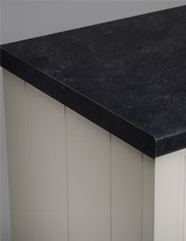 Roper Rhodes 2000mm Laminate Worktop 28mm Thick - Riven Slate