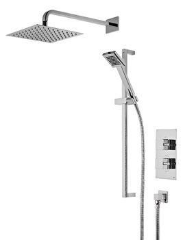 Event Square Concealed Dual Function Shower Set - SVSET41