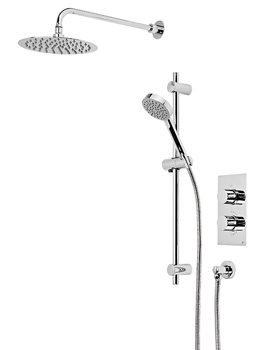 Event Round Concealed Dual Function Shower Set - SVSET42
