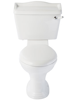 Balterley Regent Close Coupled WC With Cistern And Soft Close Seat