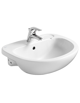 Studio 560mm Semi-Countertop Basin With 1 Tap Hole
