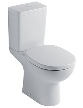 Studio Close Coupled WC With Cube Cistern 665mm