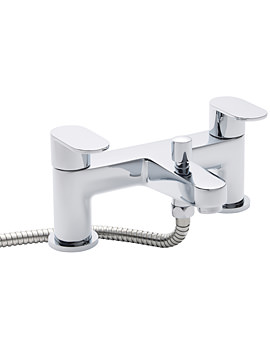 Balterley Tranquil Bath Shower Mixer Tap Chrome - BY-BCPTQ004