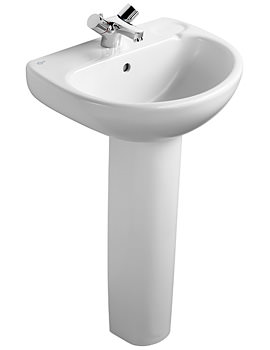 Ideal Standard Studio Pedestal Washbasin 500mm - E112001