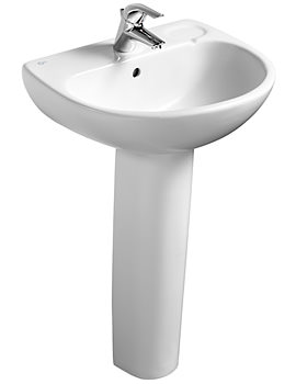 Studio Pedestal Washbasin 560mm - E108001