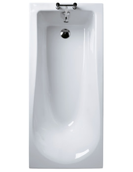 Tonic 1800 x 800mm Rectangular Single Ended Bath