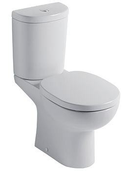 Studio Close Coupled WC With Arc Cistern 665mm
