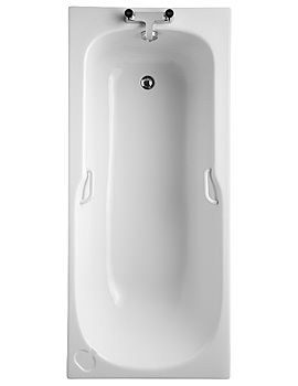 Studio 1700 x 700mm Idealform Bath With Handgrips