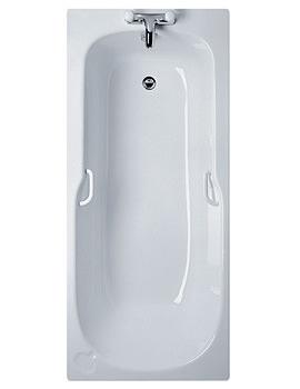 Studio 1500 x 700mm Idealform Bath With Handgrips