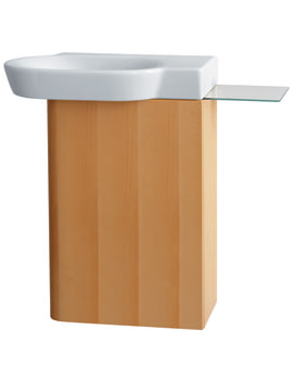Ideal Standard Tonic Guest Wall Hung Beech Basin Cabinet - K2190FN