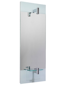 Ideal Standard Tonic Mirror With Central Lamp And Integrated Basin Mixer Tap