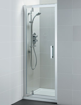 Synergy Pivot Alcove Shower Door 1000mm - L6204EO