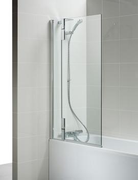 Tonic 900 x 1517mm Left Hand Hinged Bath Screen
