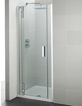 Ideal Standard Tonic Flat Top Alcove Hinged Door 1000mm Left Hand