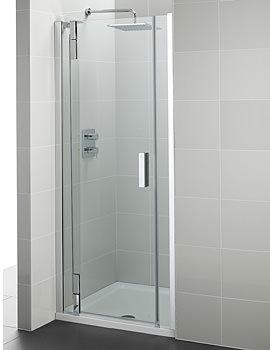 Ideal Standard Tonic Flat Top Alcove Hinged Door 900mm Left Hand