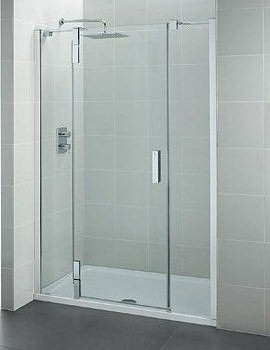 Ideal Standard Tonic Flat Top Alcove Hinged Door 1600mm Left Hand