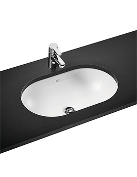 Related Ideal Standard Concept Oval 620mm Under Counter Basin - E502201
