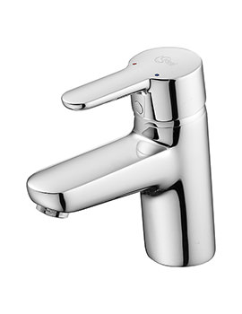 Concept Blue Basin Mixer Tap Without Waste