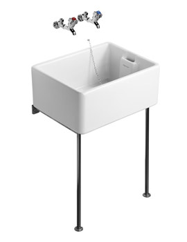 Armitage Shanks Belfast Heavy Duty Sink 460 x 380mm - S580001 - Image