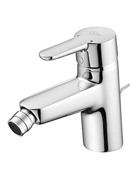 Ideal Standard Concept Bidet Mixer Tap With Pop-Up Waste