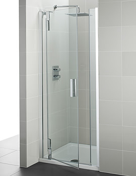 Ideal Standard Tonic Upstand Alcove Hinged Door 800mm Left Hand